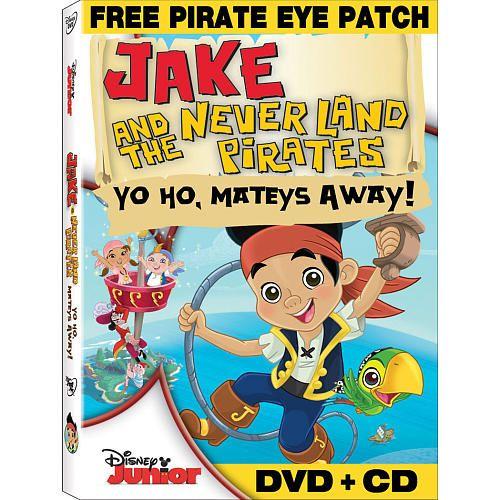 Jake and the Never Land Pirates: Yo Ho, Mateys Away! DVD ...