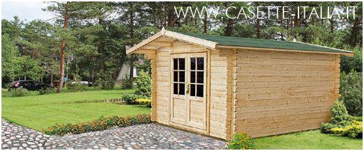 Casette in legno casette di legno casette da giardino for Casette di legno del paese