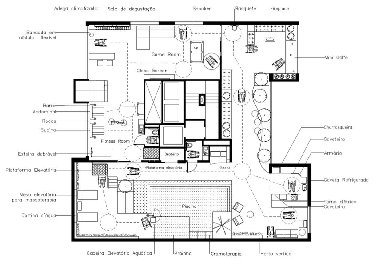 Projetos De Casa Com Acessibilidade2 Plantas Apartamento