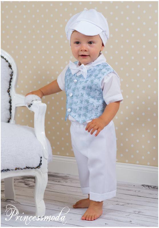 Max s er festlicher anzug f r die sommertaufe princessmoda alles f r taufe kommunion und - Festliche kleidung jungen ...