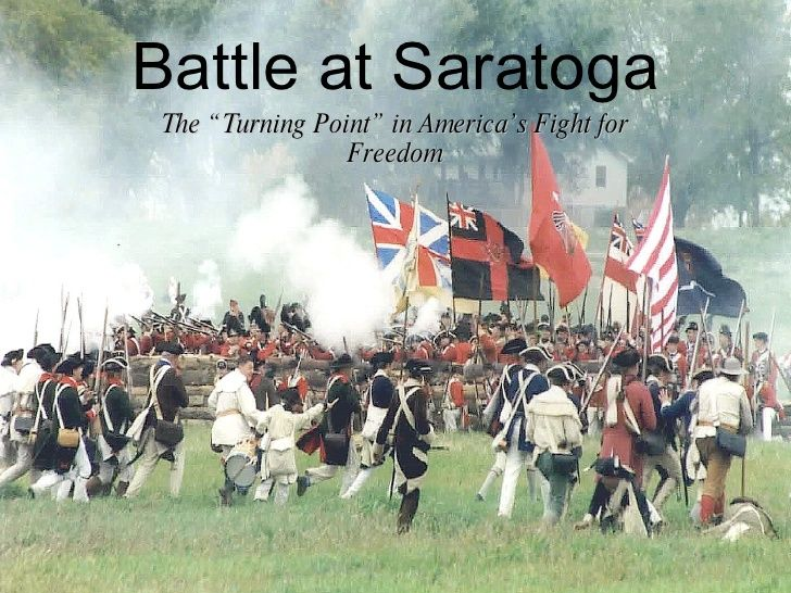 an assessment of the battle of saratoga during the american revolution