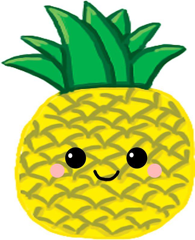 Cute Pineapple | Cute pineapple, Pineapple sticker, Pineapple