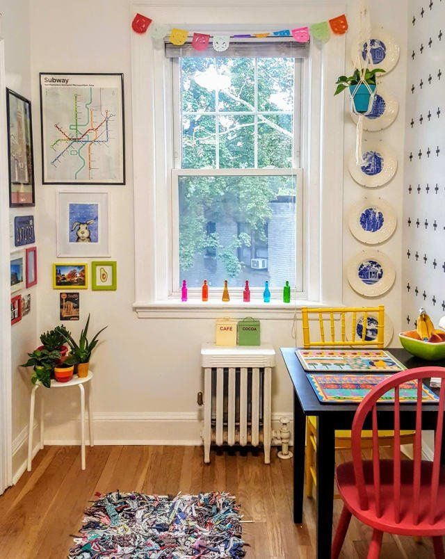 Photo of A Bold Boston Apartment Is Full of Renter-Friendly Color Ideas