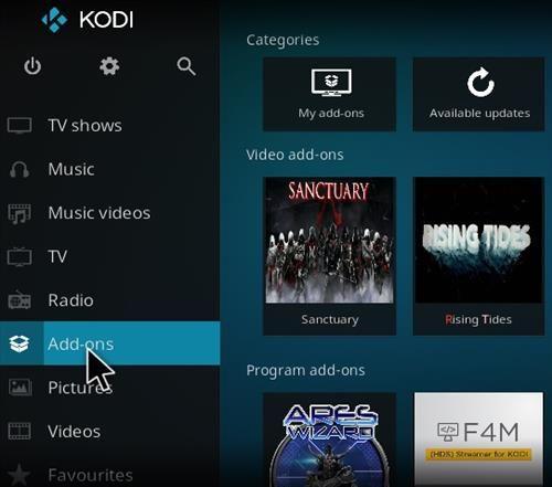How to Install Sanctuary Add-on Kodi 17.1 Krypton 8