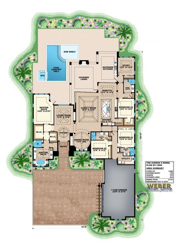 avenue 5 floor planweber design group | contemporary house plans