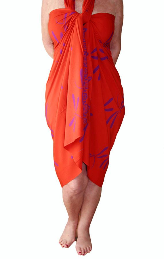 Plus Size Clothing Dragonfly Sarong Dress Or Skirt Womens Plus Size