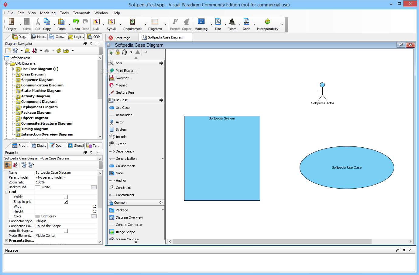 Creating use case with Visual Paradigm UML Tool ----------- www ...
