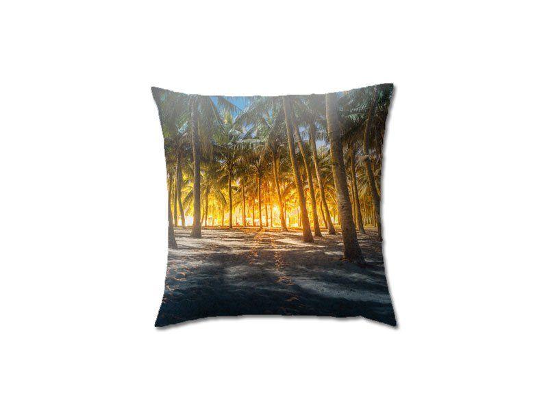 Palmenstrand Kissen