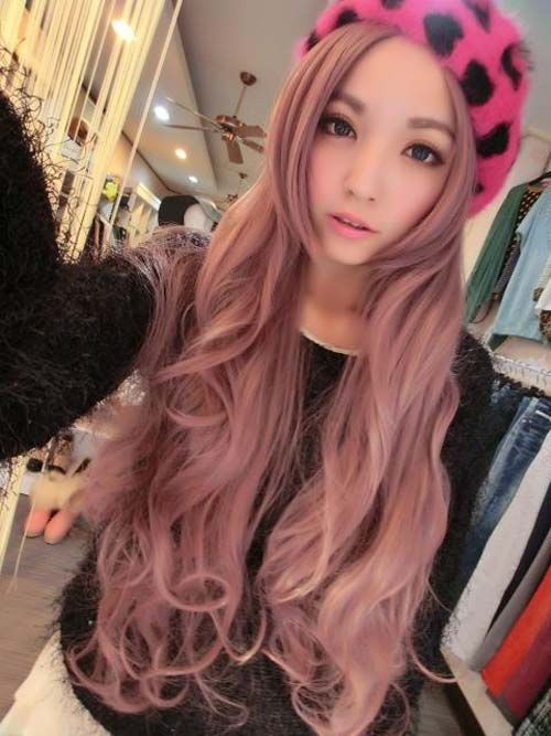 Image result for asian woman with pink hair | Pink | Pinterest ...