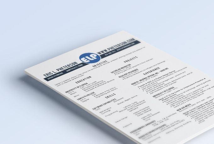 Stylize your resume to look clean and eye catching Resume cover - eye catching resume