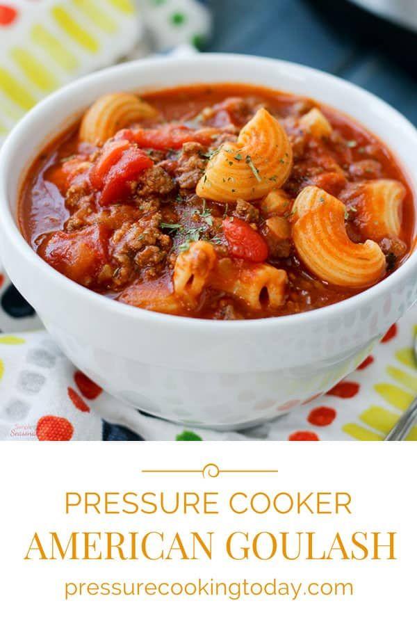 Crockpot Express American Goulash Recipe Pressure