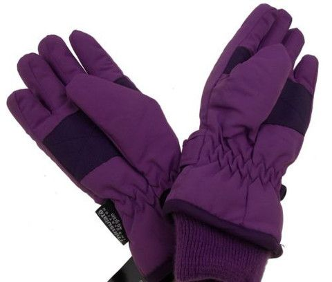 a25b8edf5 Purple Joe Boxer Girls Gloves 3M Thinsulate Insulation Waterproof Snow  Winter