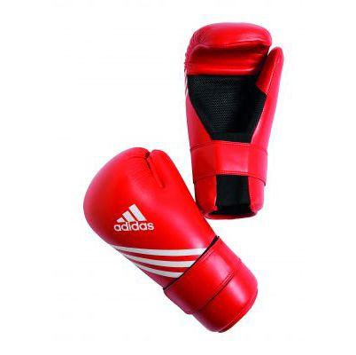 ITF Taekwon-Do Adidas Semi Contact Gloves Red. £35.99