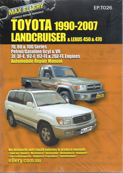 Toyota Land Cruiser Wiring Diagrams 100 Series Toyota Land Cruiser Land Cruiser Cruisers