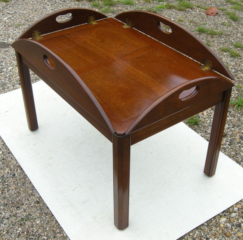 Vintage Biggs Mahogany Butler Table By Buyadalia On Etsy, $199.00