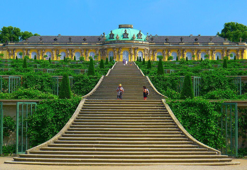 Castelo Sanssouci Potsdam Alemanha Sanssouci Potsdam Schloss Sanssouci Potsdam