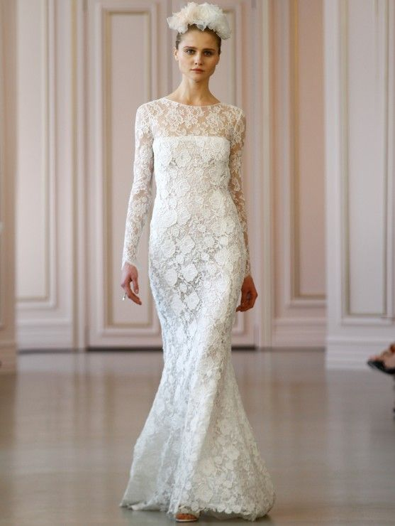 Oscar De La A S Spring 2016 Collection Launched At Bridal Fashion Week In New York City