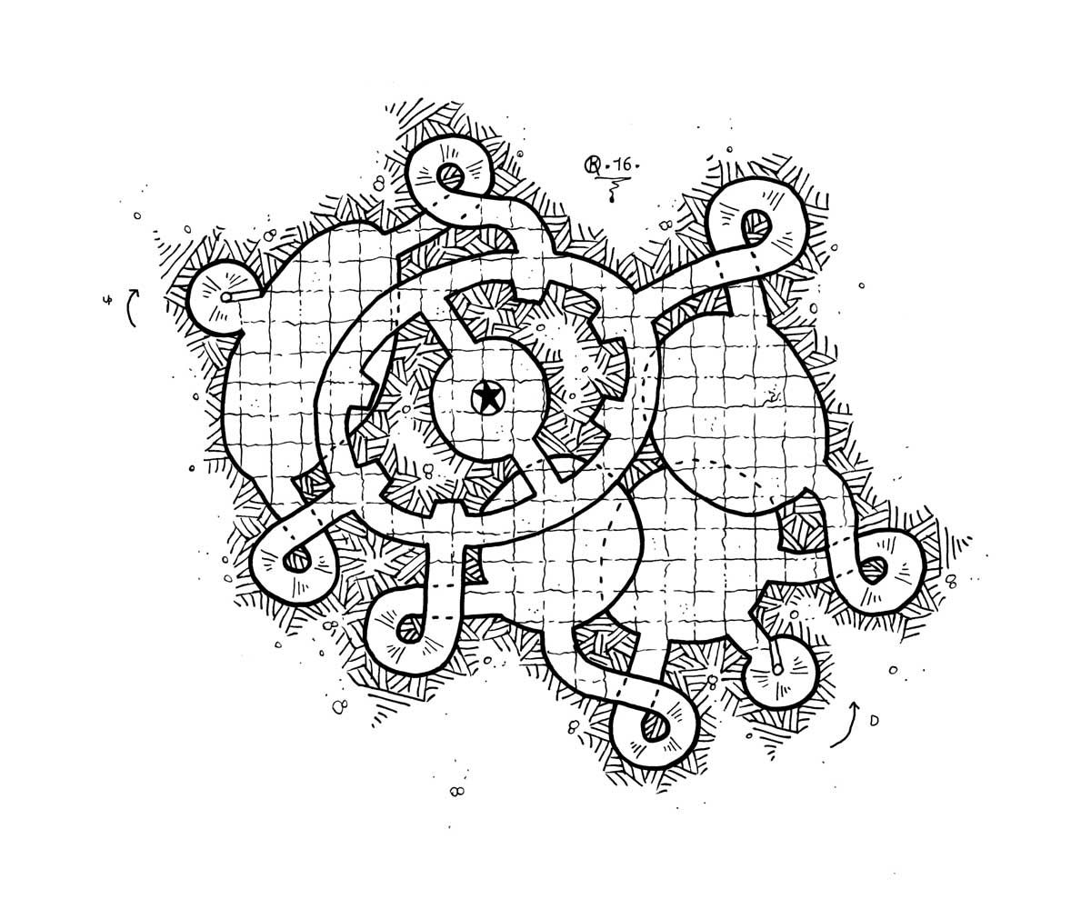 Site Map Creation: Dungeon Maps, Fantasy Map