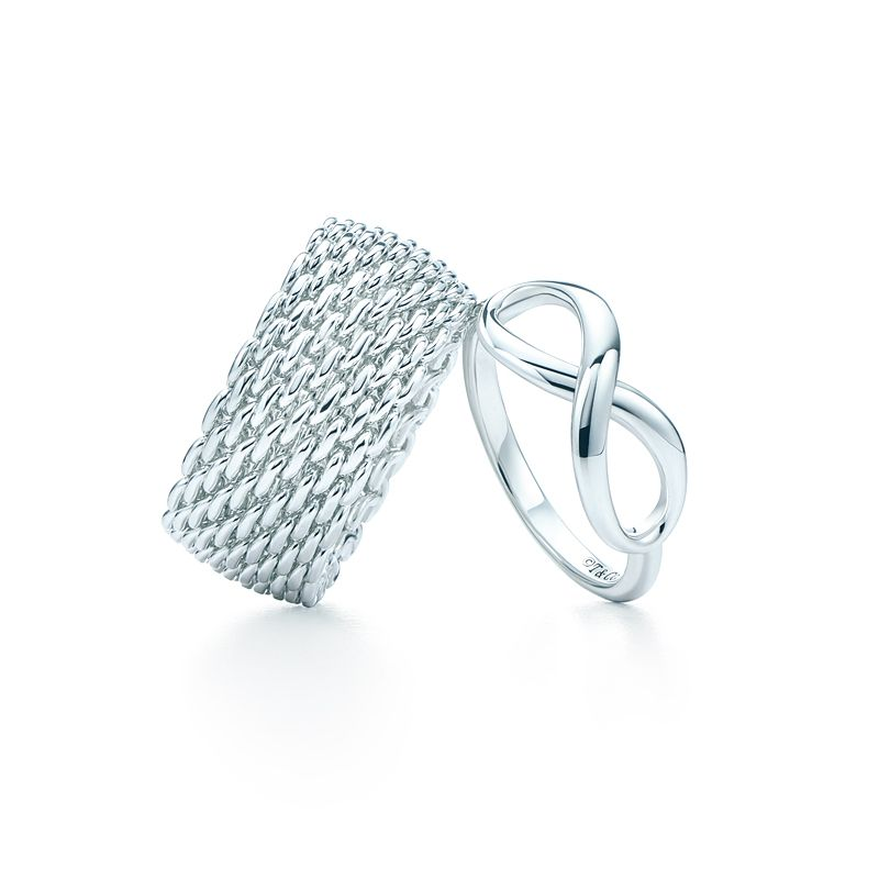 ring it on tiffany somerset� and tiffany infinity rings