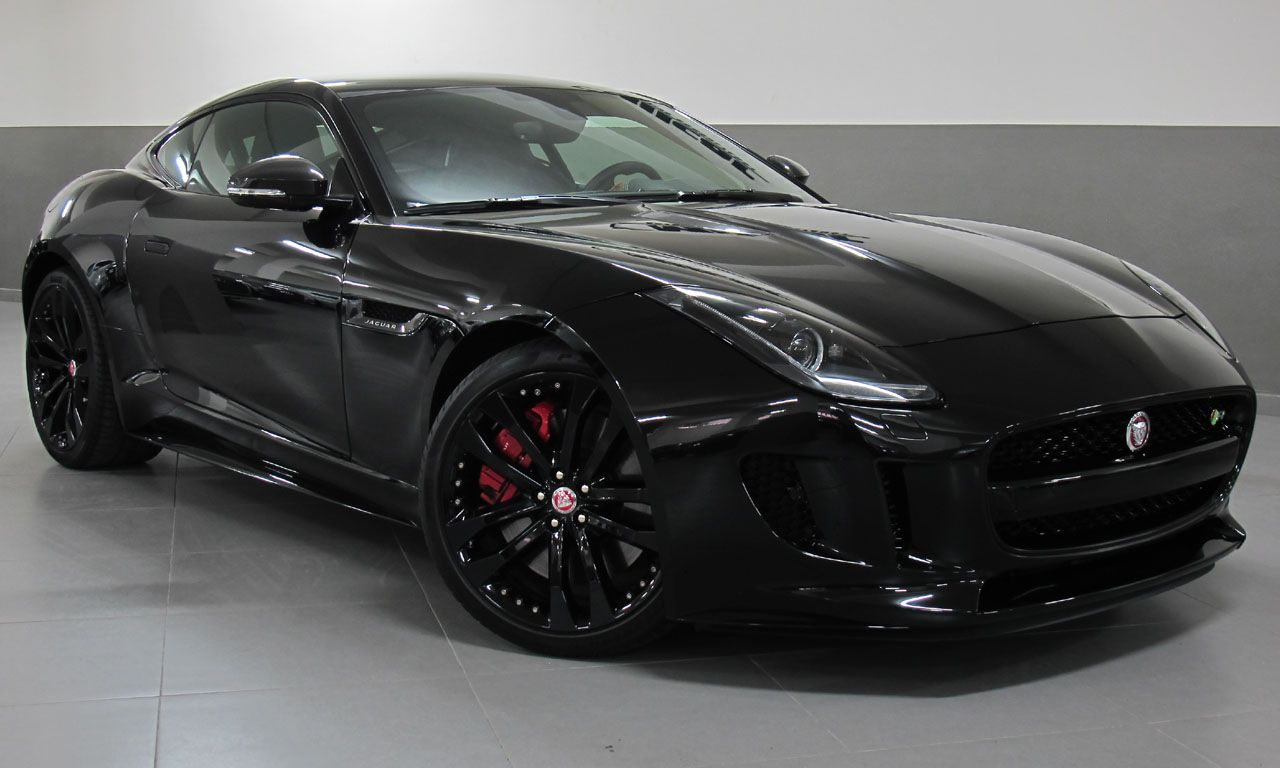 Jaguar F Type Black Jaguar F Type Jaguar Car Car Wheels