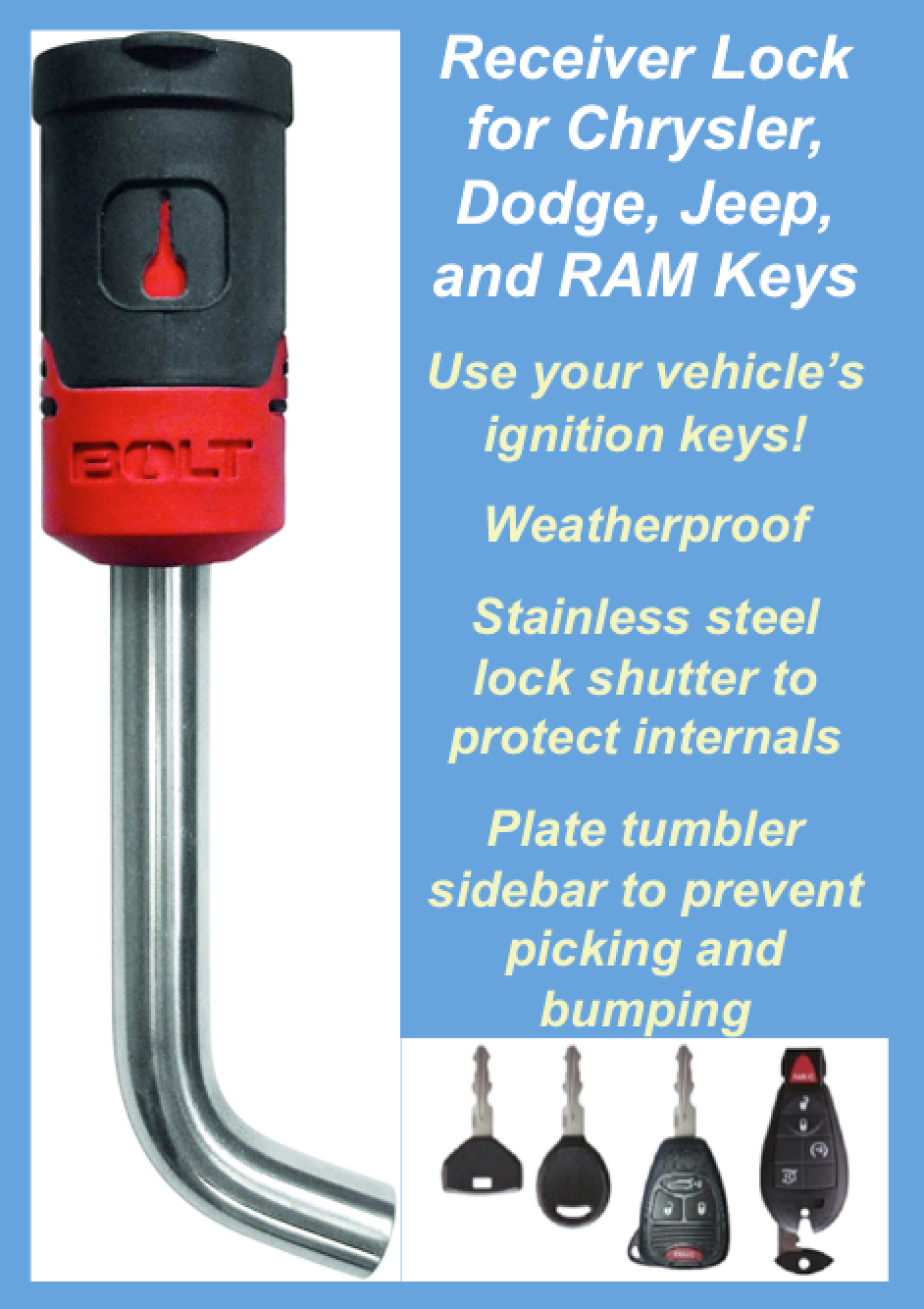 Opens With Your Vehicle S Ignition Key Eliminating Extra Keys On