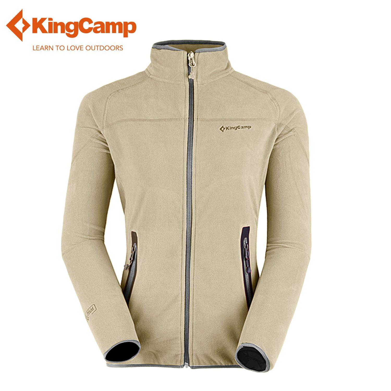 KingCamp Women's Long Sleeve Full-Zip Fleece Thermal Basic Jacket ...