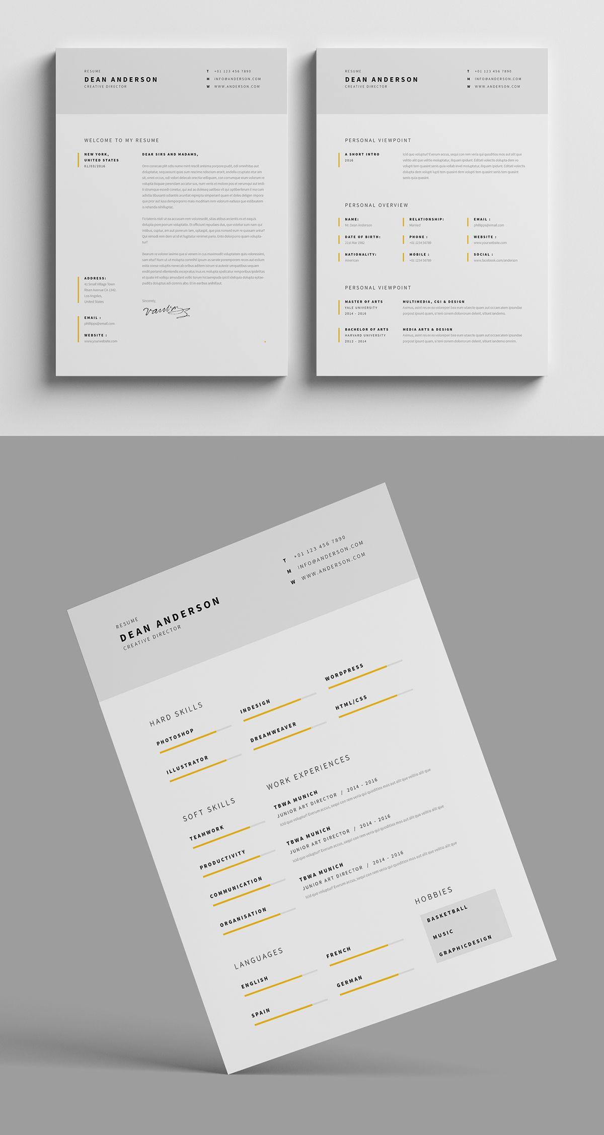 resume    cv    portfolio u201cresume    cv u201d is the super clean