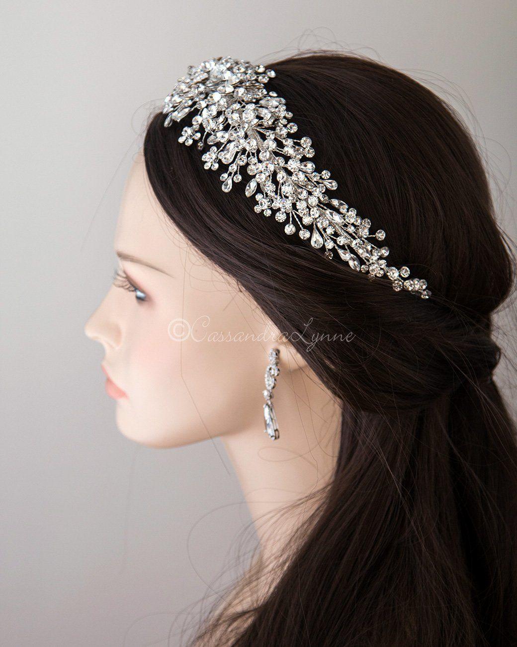 Multi Shape Jewels Wedding Headpiece Wedding Headpiece Jewel Wedding Headpiece Wedding