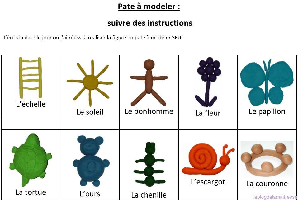 Mes ateliers autonomes en pâte à modeler   Pate a modeler, La classe de laurène et Maternelle