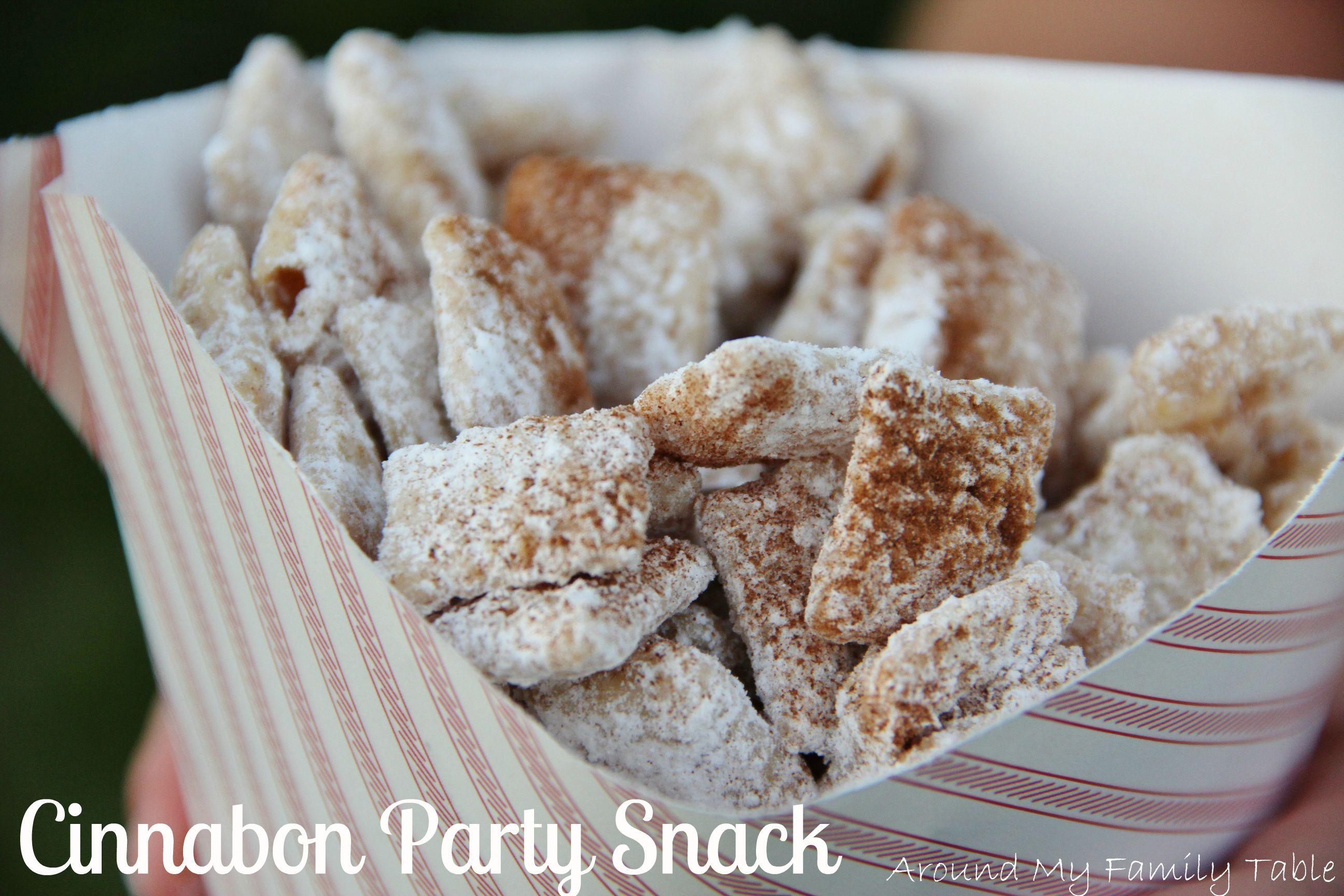 Cinnabon Party Snack
