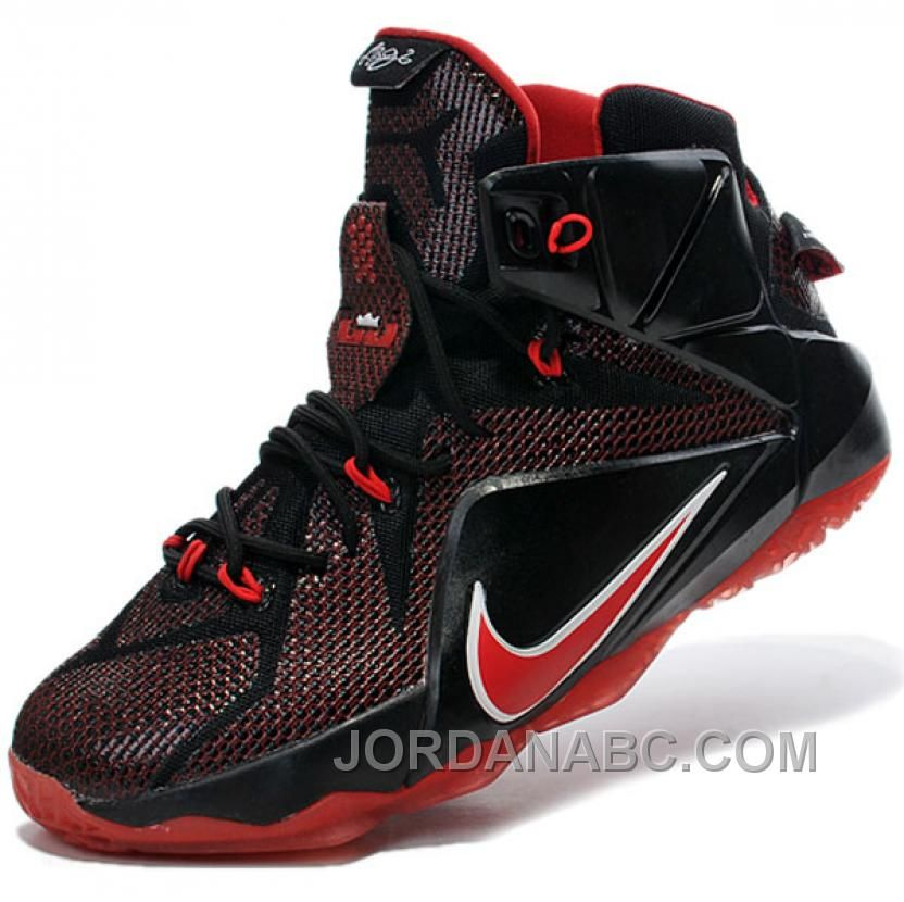 ... top brands 51265 5b53b Buy Nike Lebron James XII Lebron 12 Mens Mid Red  Basketball Shoes ... 58c70f81e