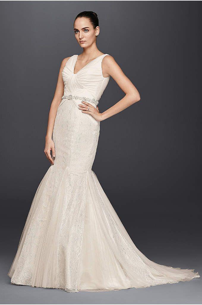 0617364b7a392 ZP341677 Lace Mermaid Wedding Dress, Princess Wedding Dresses, Long Wedding  Dresses, One Shoulder