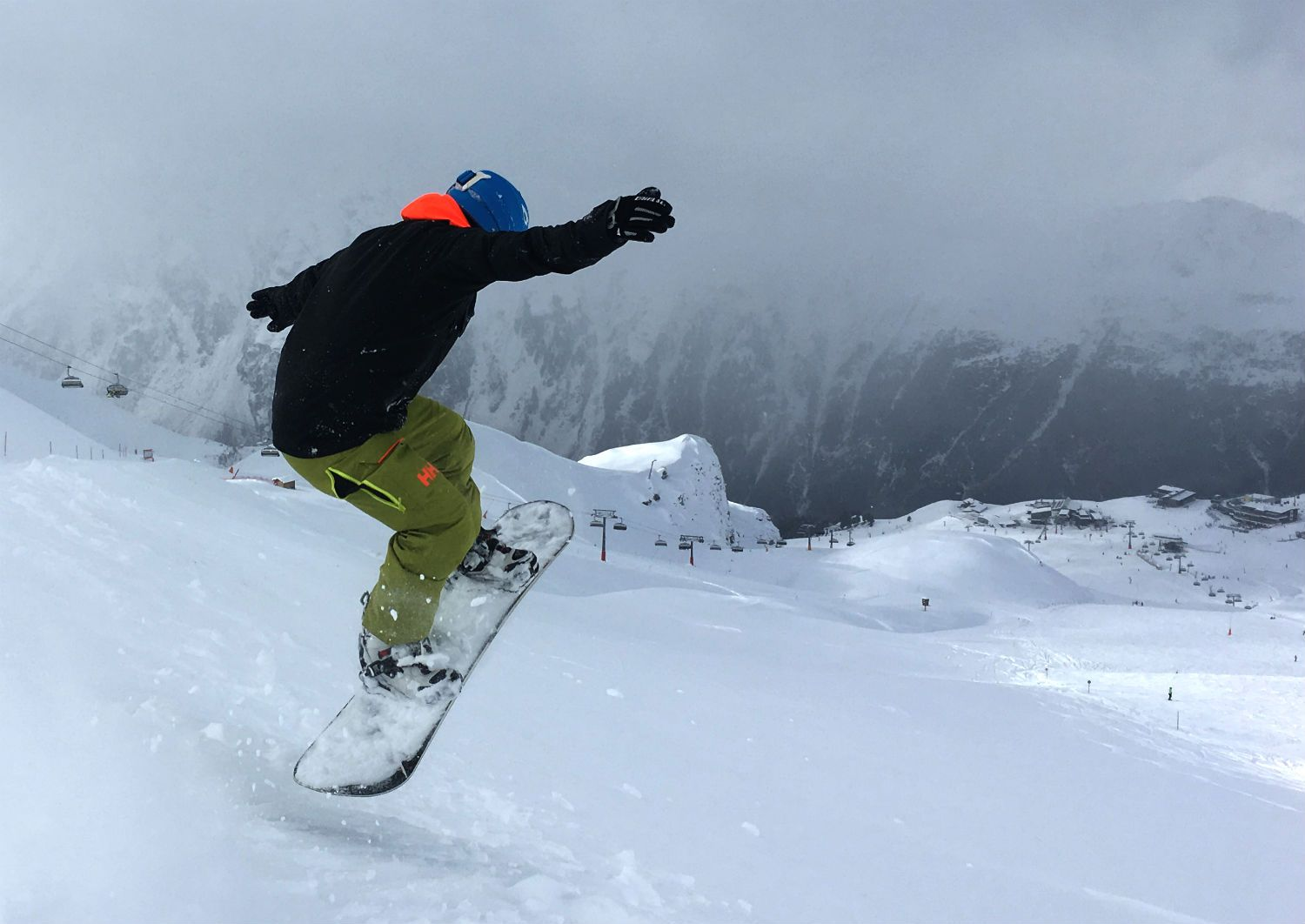 snowboarder in powder (With images) North conway
