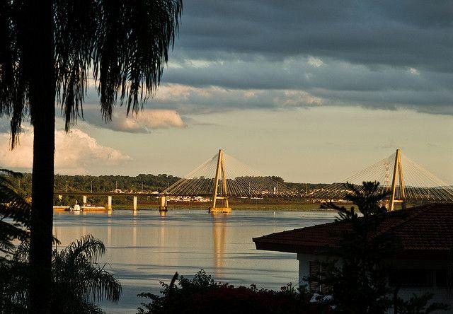 Posadas, Misiones -- Bridge to Paraguay.