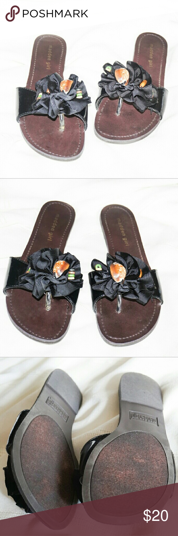 Madden Girl Slip-ons Like new condition. Same day shipping. 20% bundle discount for 3 or more. Accepts reasonable offers. Madden Girl Shoes Slippers
