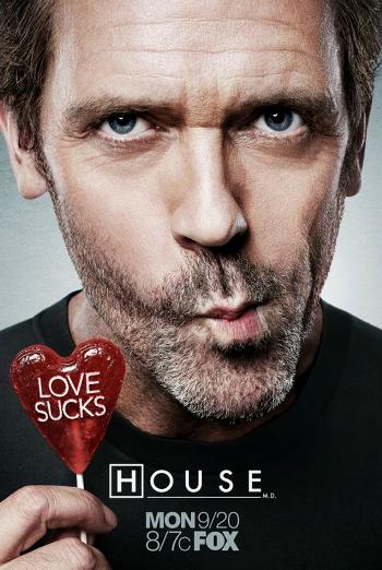 Love Sucks Dr. House poster  (]