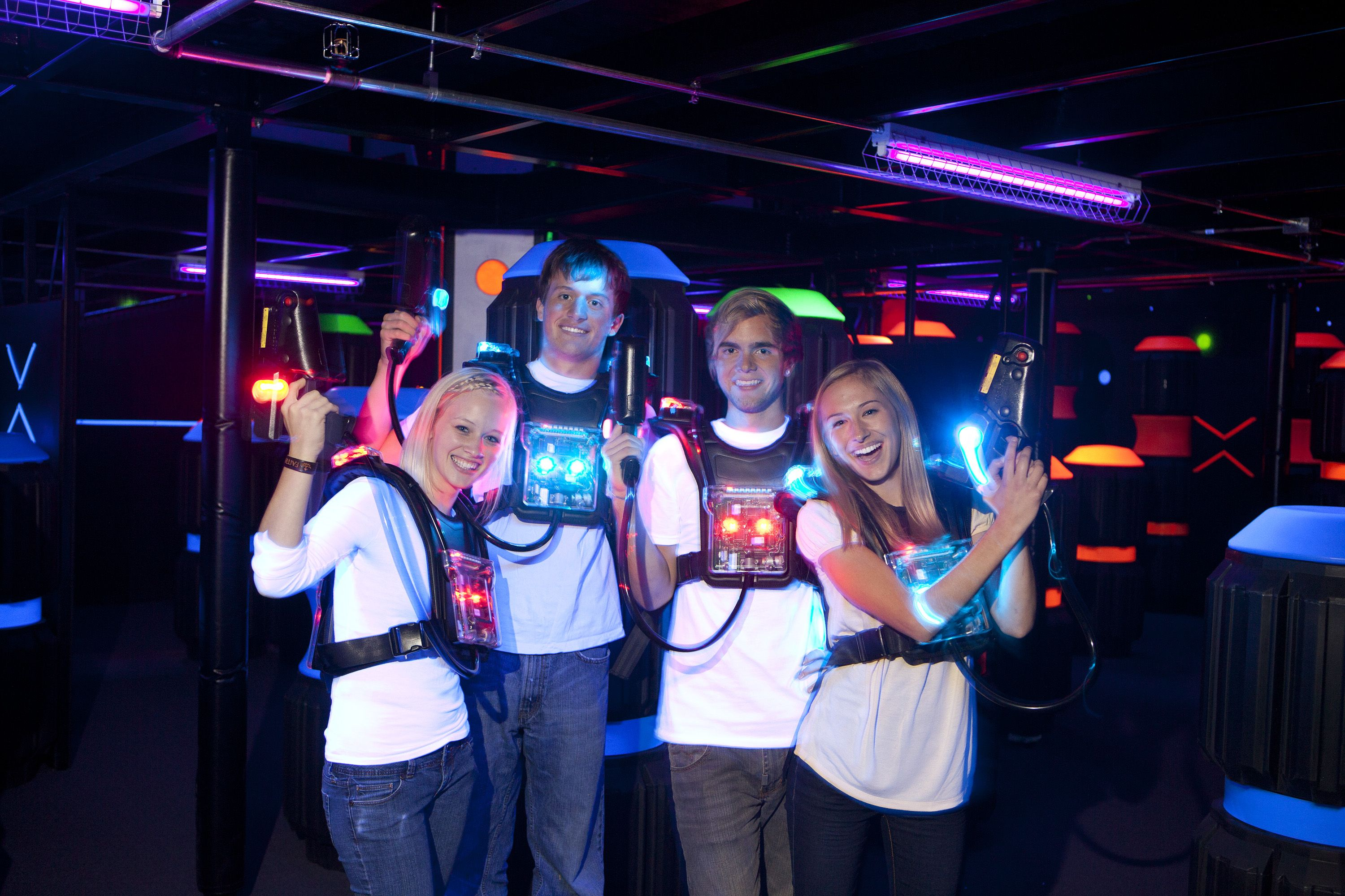Laser Tag Adventure Zone Canal Park Duluth Canal Park Duluth Family Attraction Adventure