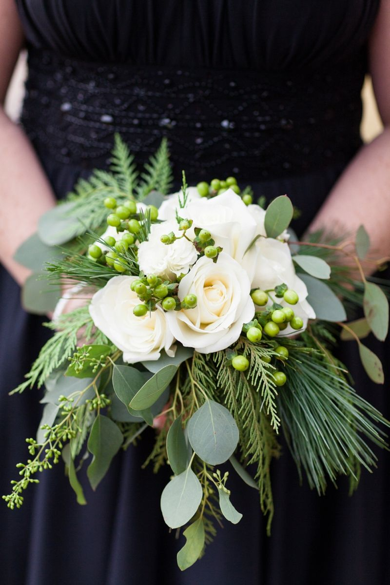 A Lake Tahoe Holiday Inspired Wedding #weddingbridesmaidbouquets
