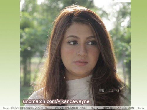 Kanza Wayne is a Pakistani Television Actress, Model and VJ. Kanza is a newcomer in Pakistani television