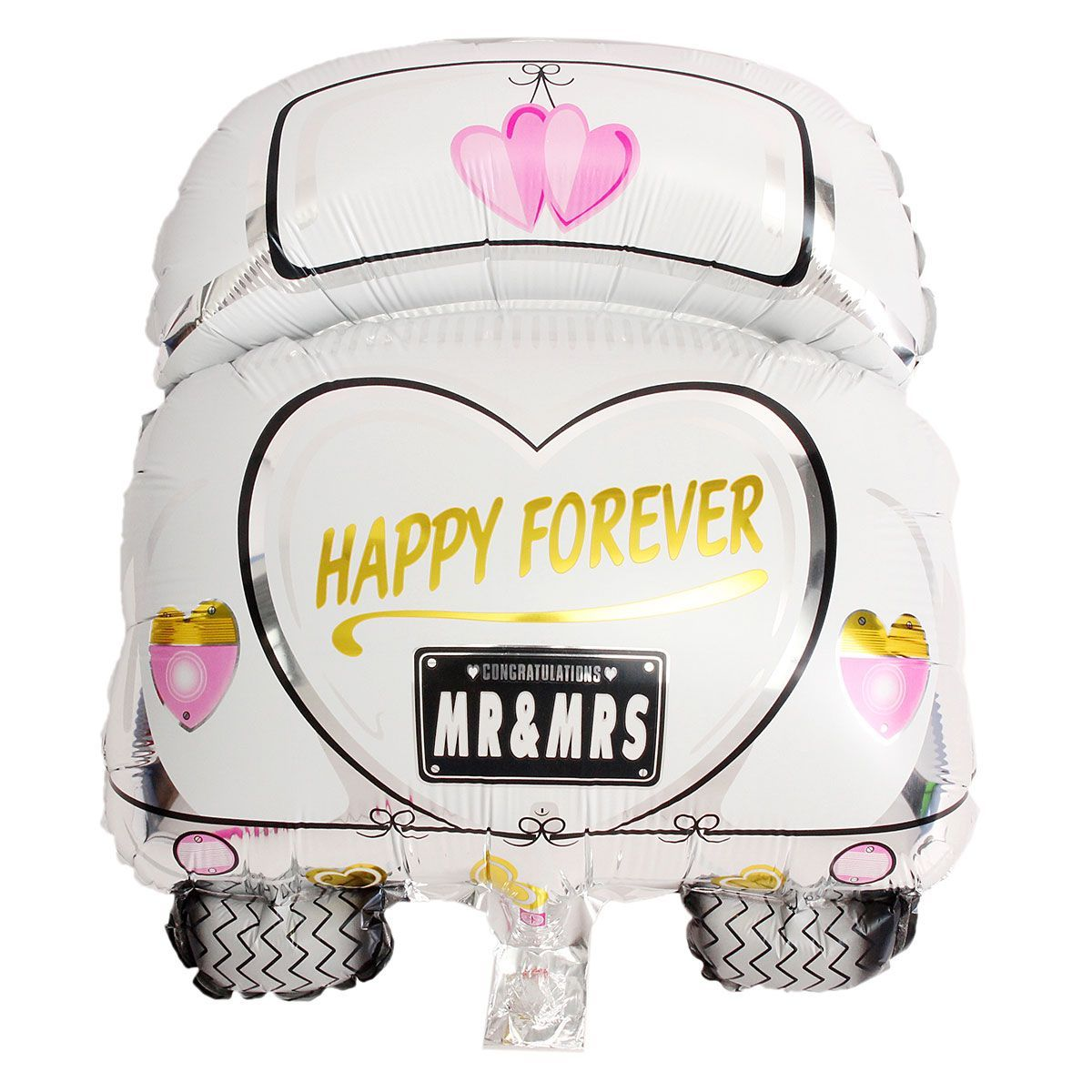 Wedding decorations for car  Wedding Car Helium Foil Balloons Valentieus Day Engagement Holiday