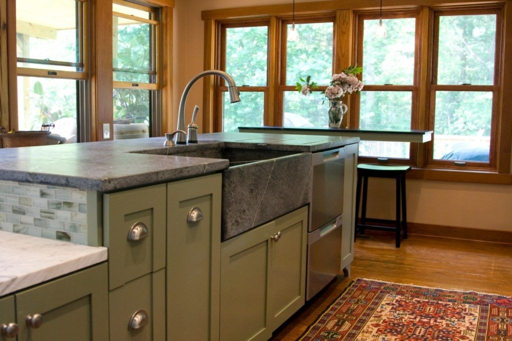 Durable Soapstone Countertops a Versatile Design Option | Soapstone on laminate countertops durability, corian countertops durability, quartzite countertops durability, tile countertops durability, butcher block countertops durability, stainless steel countertops durability, dolomite countertops durability, recycled glass countertops durability, limestone countertops durability, concrete countertops durability, solid surface countertops durability,