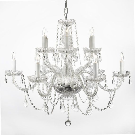 Venetian Style Crystal Traditional 12 Light 2 by gallerylighting