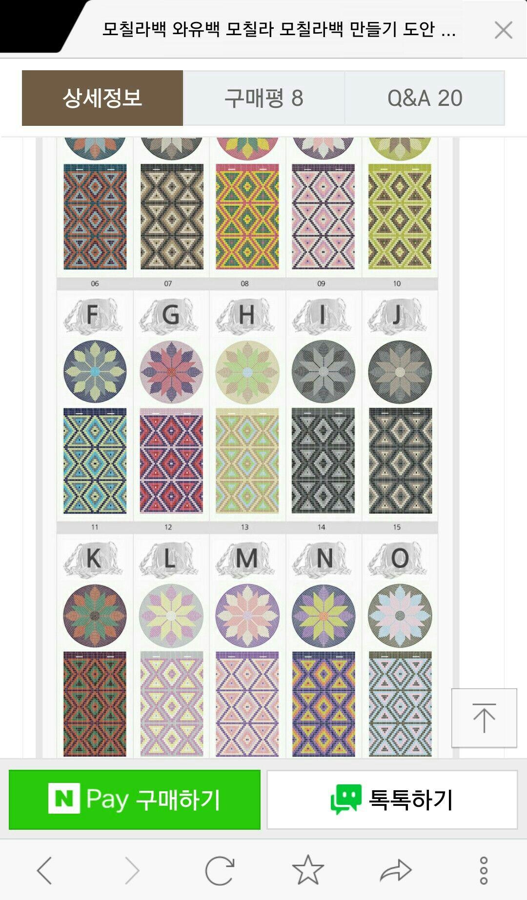 Wayuu Mochila pattern | Tutoriales | Pinterest | Mochilas, Mochilas ...