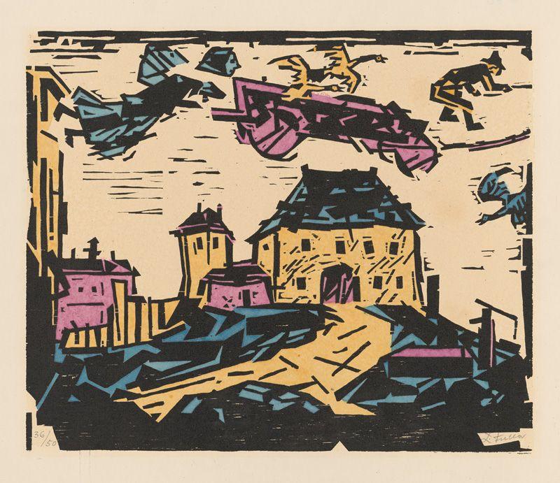 Ľudovít Fulla – Sen, 1958