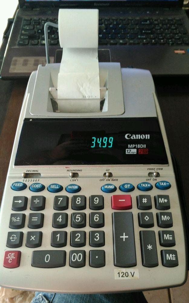 Canon Calculator Mp18dii Manual Car Owners Manual