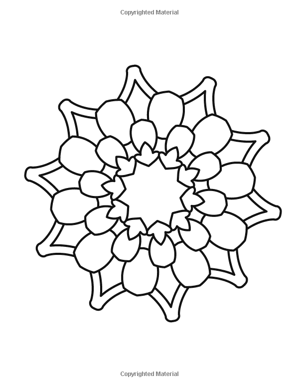 Amazon.com: Mandala Coloring Book for Kids and Beginners: Easy and ...