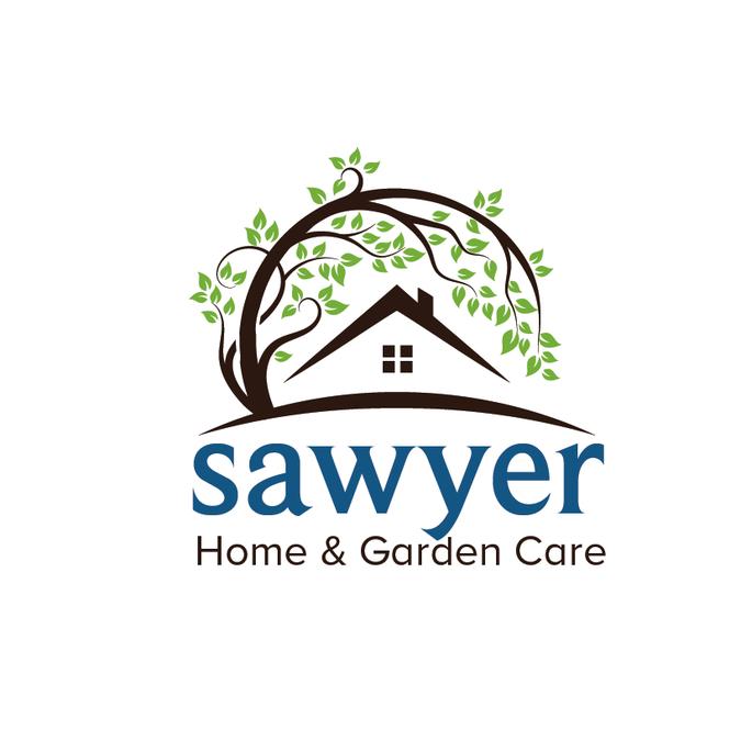 Sawyer Home Garden Services Garden Care Care Logo