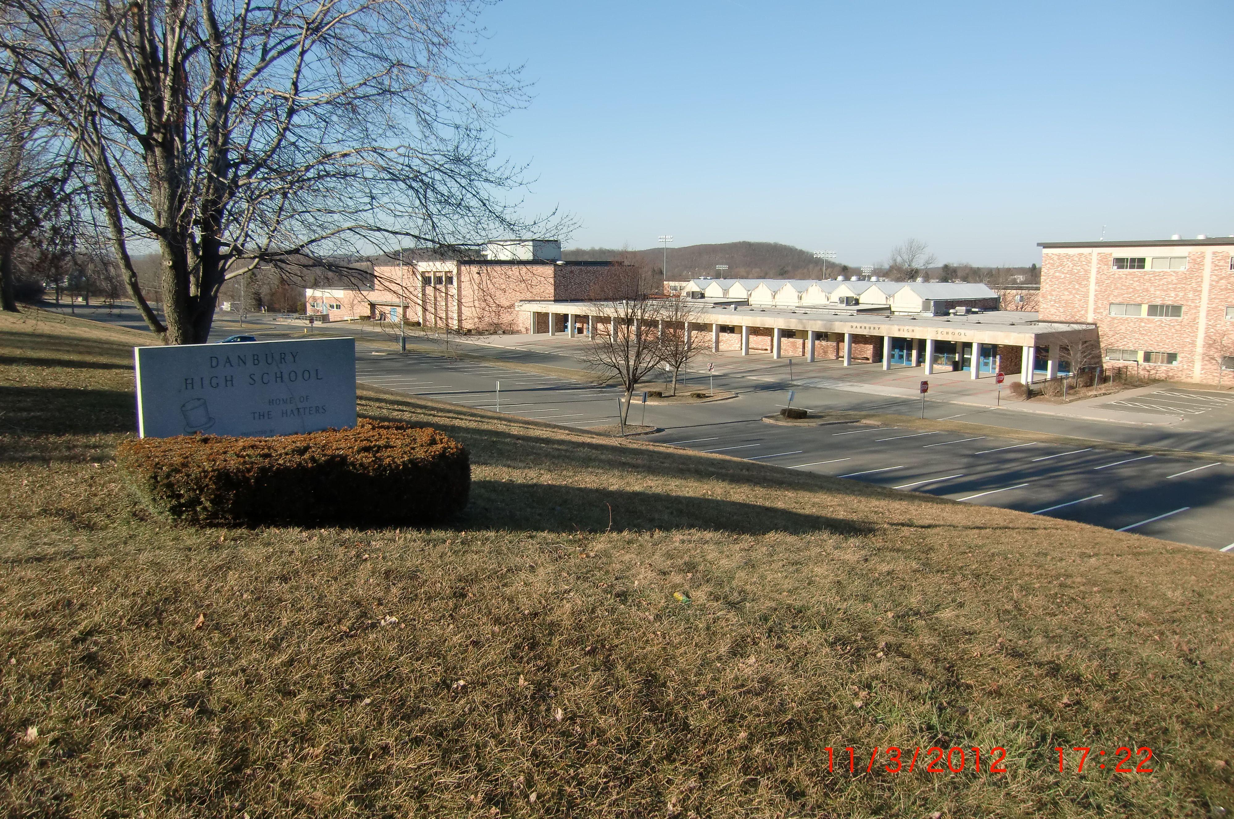 Danbury High School, Clapboard Ridge, Danbury, CT opened