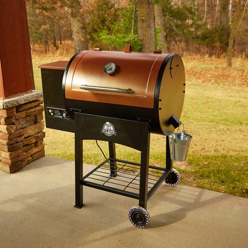 Pit Boss Classic Wood Fired Pellet Grill with Flame ...