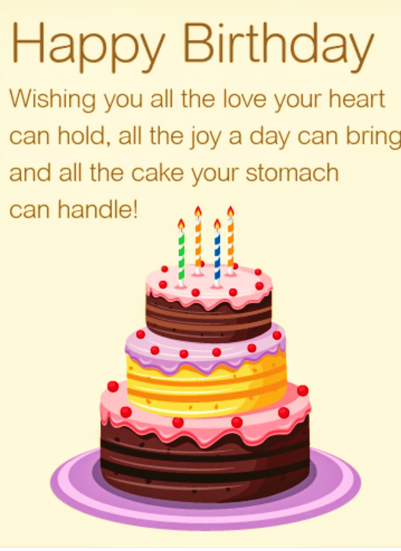 Pin by L L on Birthday Birthday wishes girl, Birthday